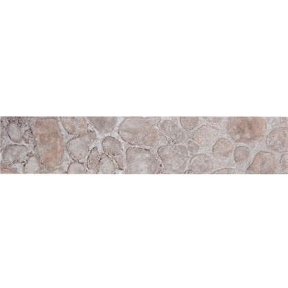 Кромка №7167 без клея для плинтуса 300х3.2 см цвет светло-серый