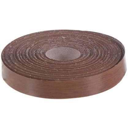Кромочная лента 19 мм 20 м цвет орех