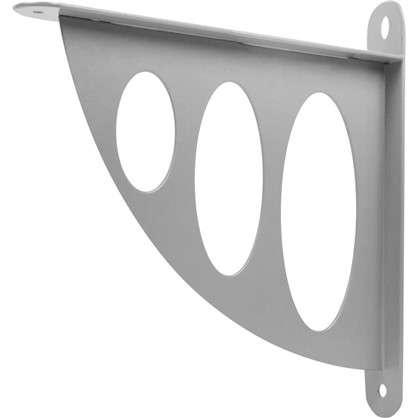 Купить Кронштейн декоративный 20х19 см цвет металл дешевле