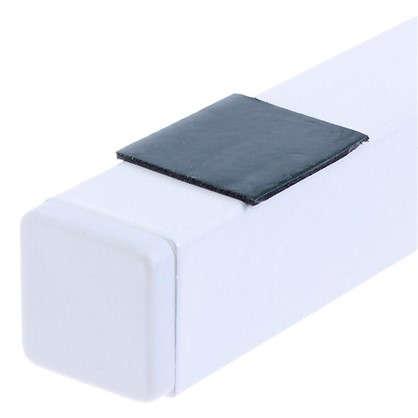Купить Кронштейн Г-образный 450х200 мм цвет белый 2 шт. дешевле