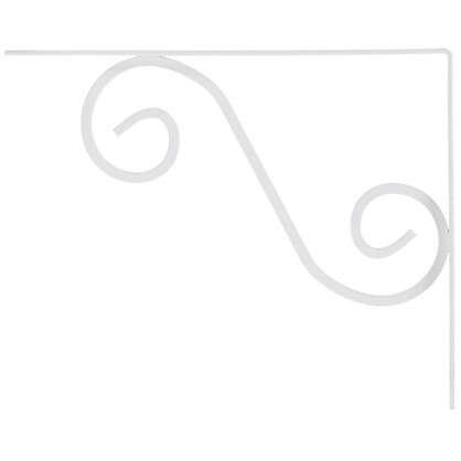 Кронштейн Мадрид 195х240 мм цвет белый