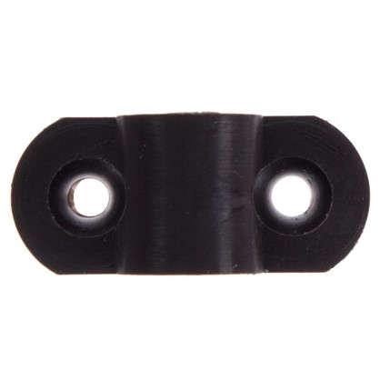 Кронштейн мебельный крепеж пластик цвет венге 8 шт.
