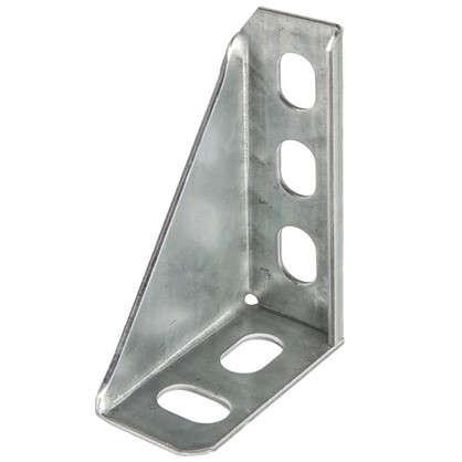 Купить Кронштейн опорный 100 мм сталь оцинкованная дешевле