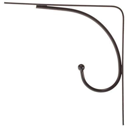 Кронштейн Сван 20х20 см нагрузка до 20 кг цвет черный
