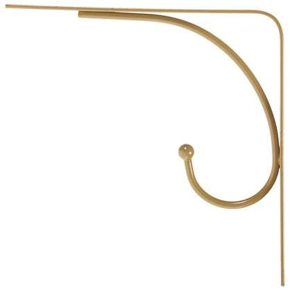 Кронштейн Сван 20х20 см нагрузка до 20 кг цвет золото