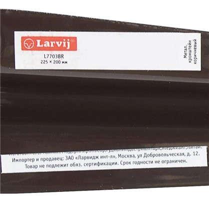 Кронштейн Utility 20х22.5 см нагрузка до 15 кг цвет коричневый
