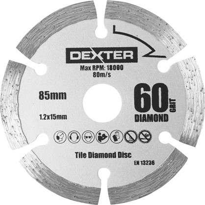 Круг для мини-пилы Dexter керамический