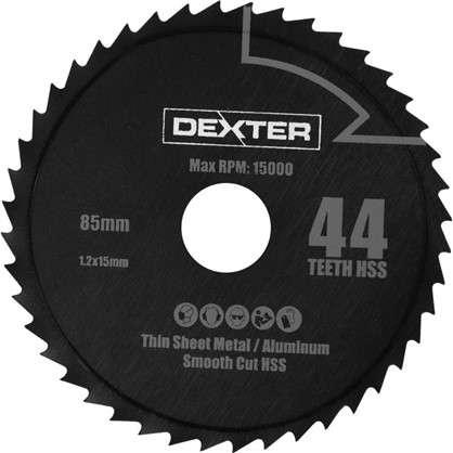 Круг для мини-пилы Dexter металлический 44 зуб