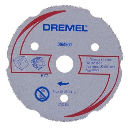 Купить Круг отрезной карбидный для Dremel DSM20 дешевле