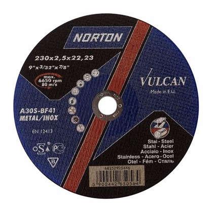 Круг отрезной по металлу Norton тип 41 230x2.5x22.2 мм