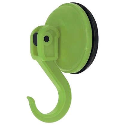 Крючок Funny на присоске цвет зелёный