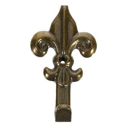 Крючок настенный Классический средний 35 мм бронза