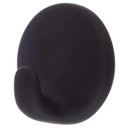 Купить Крючок самоклеющийся черный дешевле