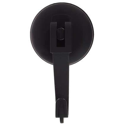 Крючок вакуумный цвет черный