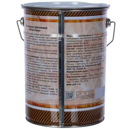 Лак алкидно-уретановый полуматовый бесцветный 5 л