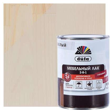 Лак для мебели алкидный цвет белый 0.9 л
