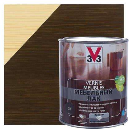 Лак для мебели V33 акриловый цвета венге 1 л