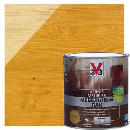 Купить Лак для мебели V33 акриловый цвета золотой дуб 0.5 л дешевле