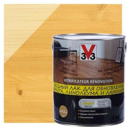 Лак для реновации водный V33 цвета дуб 2.5 л