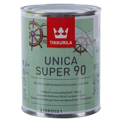 Купить Лак глянцевый Tikkurila Unica Super ЕР 0.9 л дешевле
