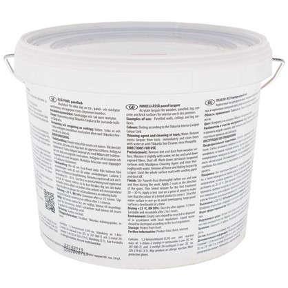 Лак Панели-Ясся 20 полуматовый 2.7 л