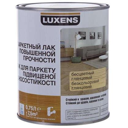 Купить Лак паркететный водный Luxens глянцевый 0.75 л дешевле