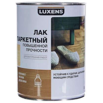 Лак паркетный Luxens алкидно-уретановый глянцевый бесцветный 0.75 л