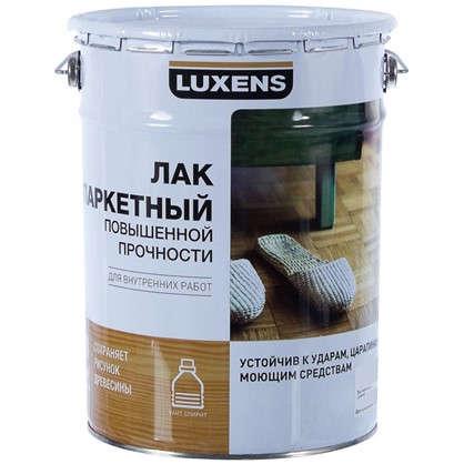 Купить Лак паркетный Luxens алкидно-уретановый матовый бесцветный 5 л дешевле