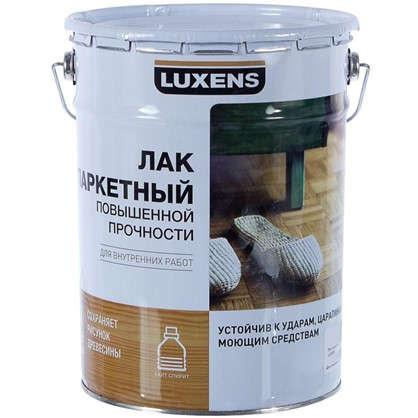 Купить Лак паркетный Luxens алкидно-уретановый полуматовый бесцветный 5 л дешевле