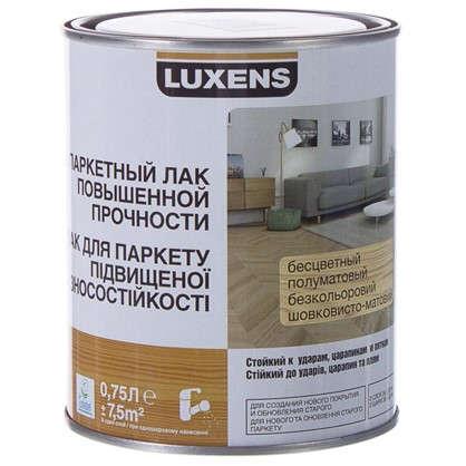 Купить Лак паркетный водный Luxens полуматовый 0.75 л дешевле
