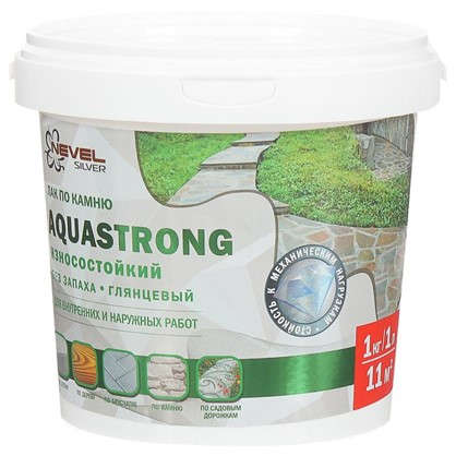 Купить Лак по камню Aquastrong высокопрочный 1.0 кг