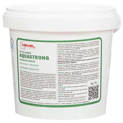 Доставка Лак по камню Aquastrong высокопрочный 1.0 кг по России