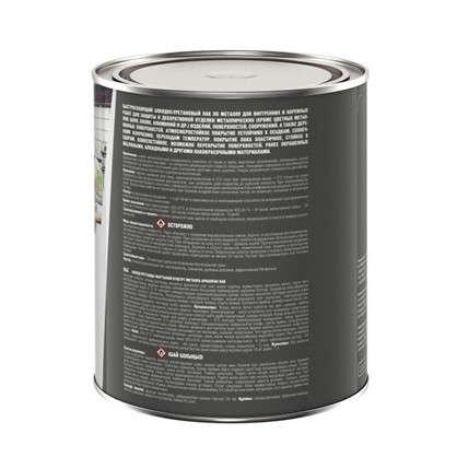 Купить Лак по металлу алкид-уретан 0.75 л полуматовый дешевле