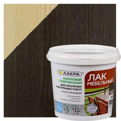 Купить Лак тонированный для мебели Лакра цвет венге 0.9 л дешевле