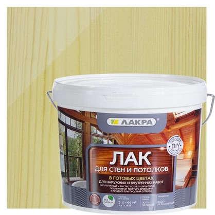 Купить Лак тонированный для стен и потолка Лакра бесцветный 5 л дешевле