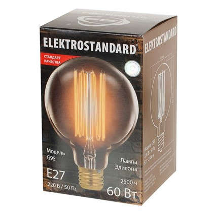 Купить Лампа Эдисон G95 60 Вт дешевле