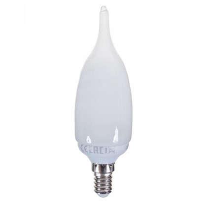 Лампа энергосберегающая Lexman свеча на ветру E14 11 Вт свет тёплый белый