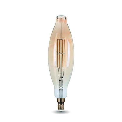 Лампа филаментная Vintage ВТ120 Е27 8 Вт цвет золотистый