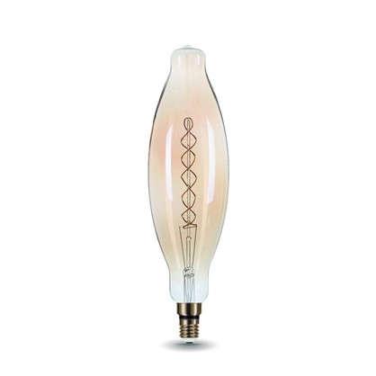 Купить Лампа филаментная Vintage ВТ120 витая Е27 8 Вт цвет золотистый дешевле