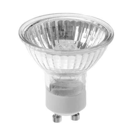 Лампа галогенная Uniel GU10 50 Вт свет теплый белый