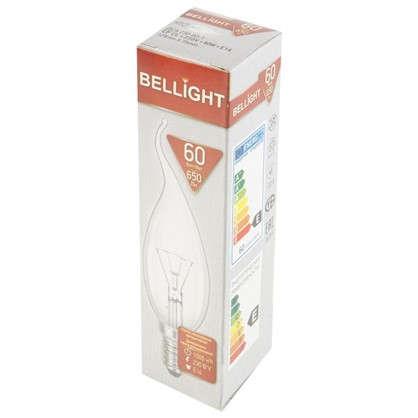 Лампа накаливания Bellight свеча на ветру E14 60 Вт свет теплый белый