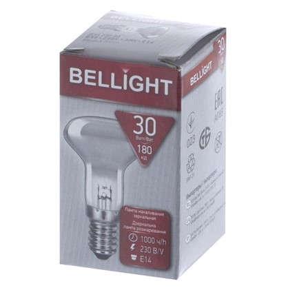 Лампа накаливания Belsvet спот R39 E14 30 Вт свет теплый белый