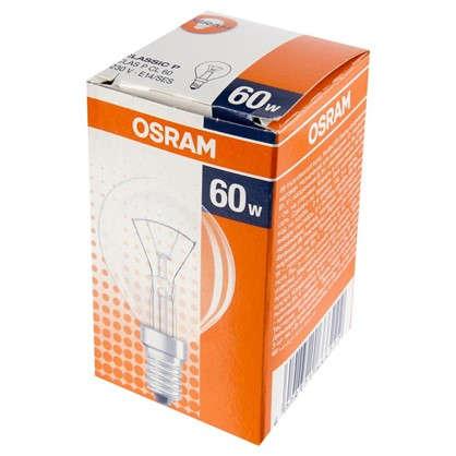 Лампа накаливания Osram шар E14 60 Вт свет теплый белый