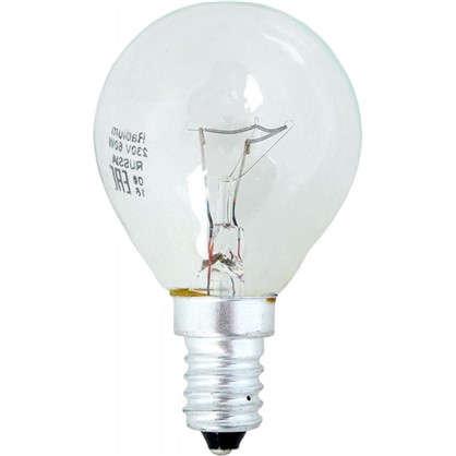 Лампа накаливания Radium Шар E14 60 Вт прозрачная колба