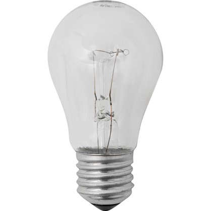 Лампа накаливания Стандарт E27 40 Вт свет теплый белый прозрачная колба