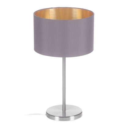 Лампа настольная Maserlo 1х60 ВтXE27 цвет капучино