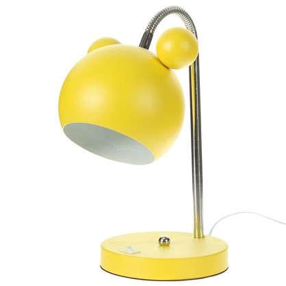 Лампа настольная Panda E27 40 Вт цвет желтый