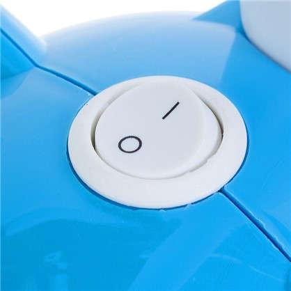 Лампа настольная Сова E27 40 Вт цвет синий