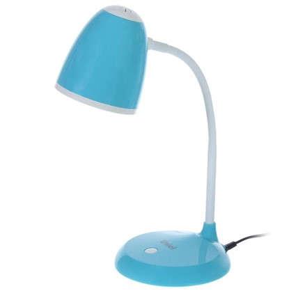 Лампа настольная TLI-228 1х60 ВтхЕ27 цвет голубой
