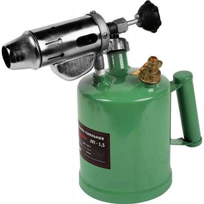Лампа паяльная бензиновая Калибр ЛП-1.5 1.5 л
